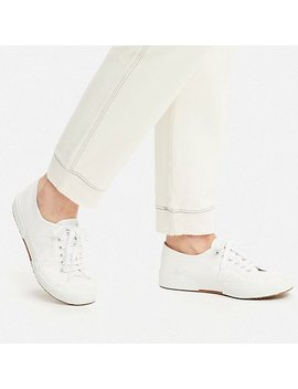 Women Ines French Terry Trousers by Uniqlo
