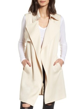 Zoe Longline Trench Vest by Vigoss
