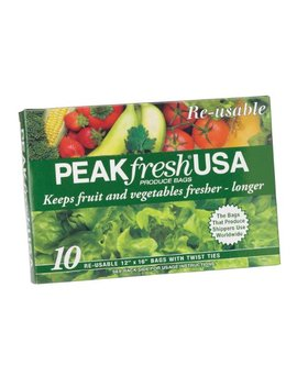 Peak Fresh Re Usable Produce Bags, Set Of 10 by Peak Fresh