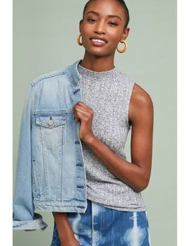 Mock Neck Layering Tank by Pure + Good