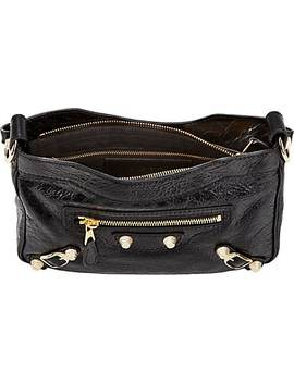 Arena Leather Giant Hip Bag by Balenciaga