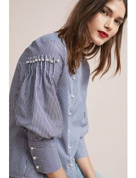 Wells Buttoned Blouse by Anthropologie