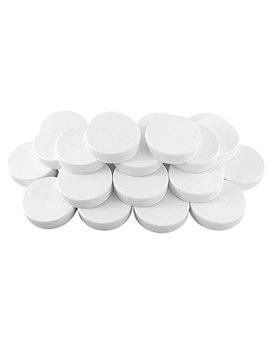 White Plastic Standard Mason Jar Plastic Lids 24 Lids; Regular Mouth Storage Caps (24 Pack) by Cornucopia Brands
