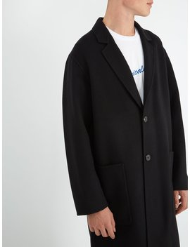 Double Faced Wool Overcoat by Ami