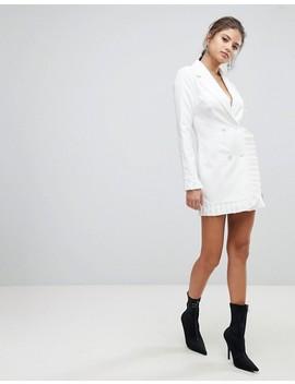 Missguided Pleat Trim Blazer Dress by Missguided