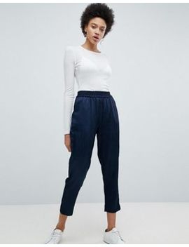 Selected Cropped Tailored Trouser by Selected
