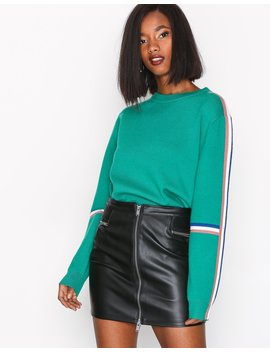 Onl Tracey Faux Leather Skirt Otw by Only