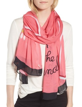 Chandelier Print Scarf by Kate Spade New York