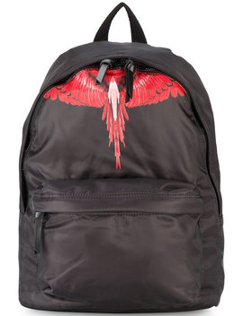 Choym Print Backpack by Marcelo Burlon County Of Milan