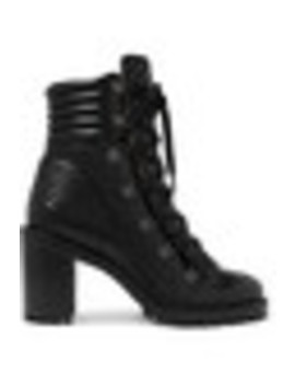Mad 70 Spiked Quilted Leather Ankle Boots by Christian Louboutin