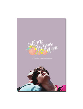 Call Me By Your Name Movie Silk Poster Wall Art Canvas Print 12x18 24x36 Inch by Ebay Seller
