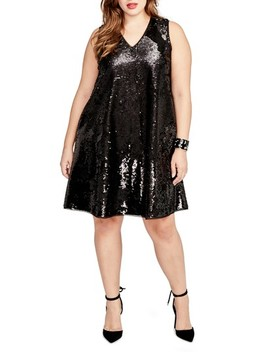 Sequin Swing Dress by Rachel Rachel Roy