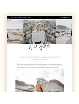 Marigold Ii   Responsive Blogger Theme   Custom Slider, Featured Categories And About Widget by Etsy