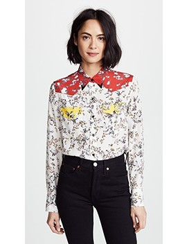 Floral Jasper Shirt by Rag & Bone