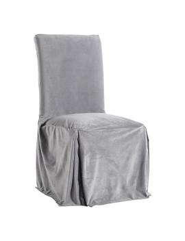 Microfiber Velvet Dining Chair Slipcover by Target