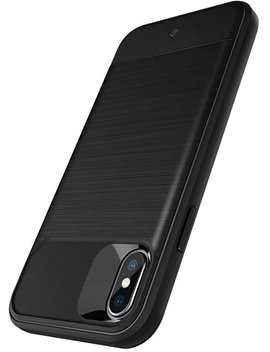 Caseology Vault Series Case Designed For I Phone X With Thin Non Bulky Coverage And Shock Absorbent Drop Protection For Apple I Phone X / I Phone 10   Black by Caseology