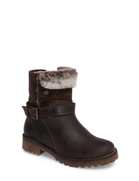 Cluster Faux Shearling Waterproof Boot by Bos. & Co.