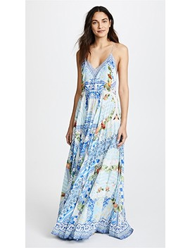 A Night To Remember Pleated Slip Dress by Camilla