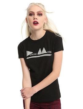 Depeche Mode Triangle Logo Girls T Shirt by Hot Topic