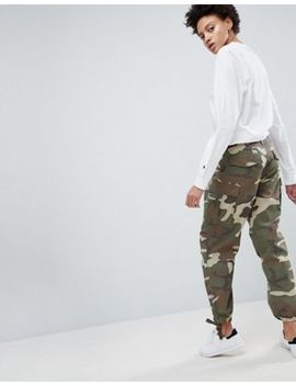 Asos Cargo Trousers In Camo by Asos Collection