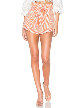 Isla Striped Short by For Love & Lemons