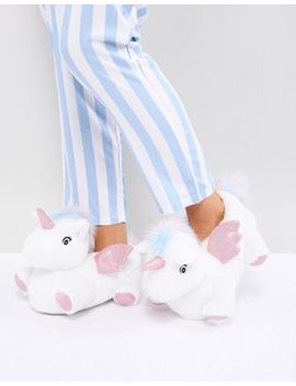 New Look Unicorn Slipper by New Look