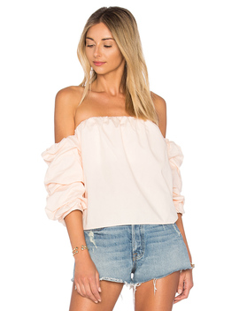 X Revolve The Puff Sleeve Blouse by L'academie
