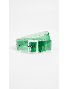 Pvc Belt by Tibi