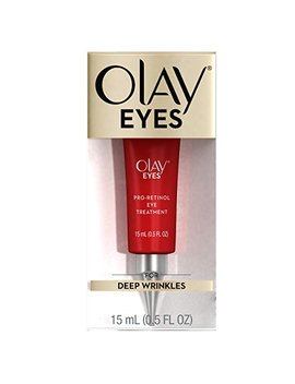 Olay Eyes Pro Retinol Eye Cream Treatment To Reduce The Look Of Deep Wrinkles And Reflect Visibly Smoother, Younger Looking Eyes, 0.5 Fl Oz  Packaging May Vary by Olay