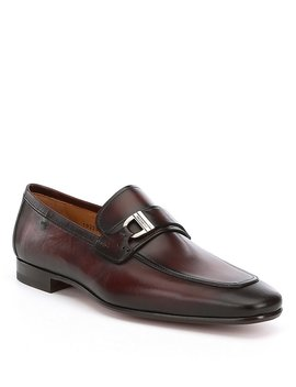 Men's Rico Bit Buckle Detail Loafers by Magnanni