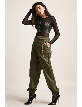 Chained Ankle Joggers by F21 Contemporary
