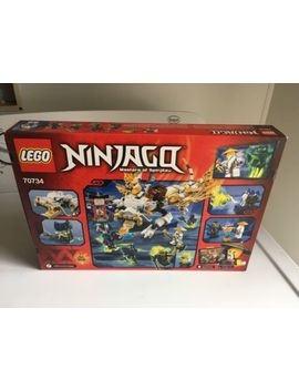 Brand New Retired Lego Ninjago Set #70734 Master Wu Dragon (Free Shipping) by Lego