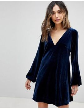 Free People Misha Velvet Dress by Free People