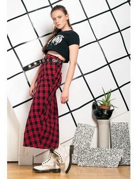 90s Vintage Grunge Maxi Skirt by Pop Sick