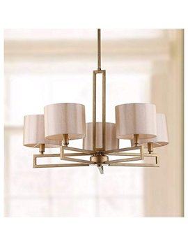 Safavieh Lighting Collection Catena Antique Gold 53.5 Inch Chandelier by Safavieh