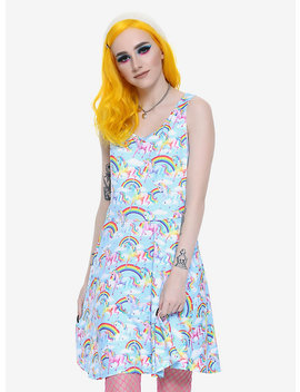 Lisa Frank Unicorn Rainbow Dress by Hot Topic