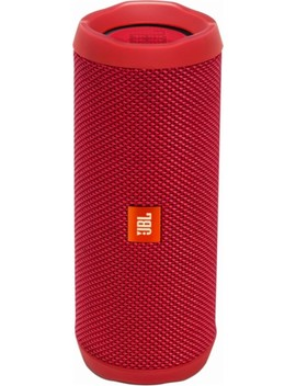 Flip 4 Portable Bluetooth Speaker   Red by Jbl