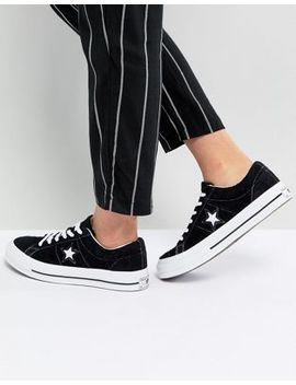 Converse One Star Ox Sneakers In Black by Converse