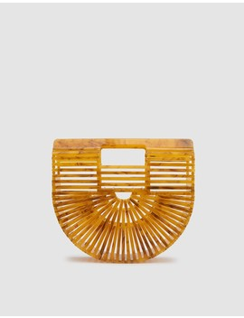 Acrylic Ark Mini In Marigold by Need Supply Co.