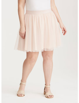 Blush Tulle Mini Skirt by Torrid