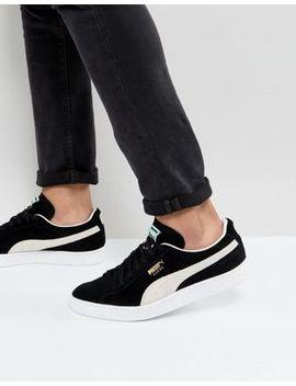 Puma Suede Classic Sneakers In Black 35263403 by Puma