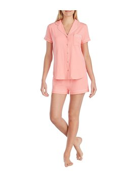 Kate Spade New York Queen Of Hearts Embroidered Jersey Pajamas by Kate Spade New York