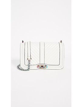 Cheveron Quilted Love Cross Body Bag by Rebecca Minkoff