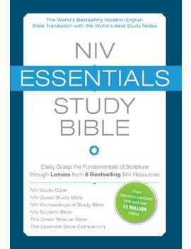 Niv, Essentials Study Bible, E Book: Easily Grasp The Fundamentals Of Scripture Through Lenses From 6 Bestselling Niv Resources by Zondervan