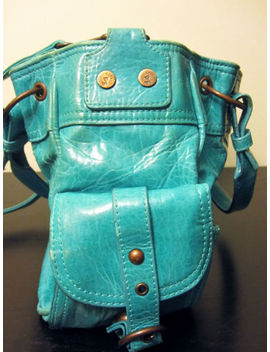 Lollipop Turquoise Handbag With Wings And Star by Lollipop