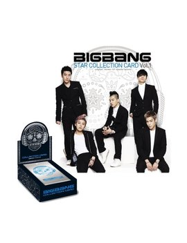 Bigbang Star Collection Card Vol. 1 (10 Pack Set)(Cardbb) By Yg Entertainment by Yg Entertainment