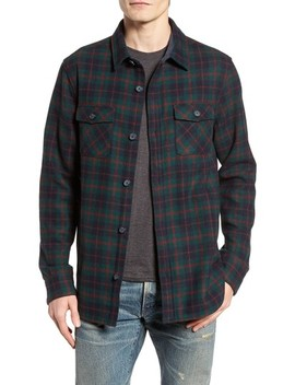 Plaid Wool Blend Jacket by Original Penguin