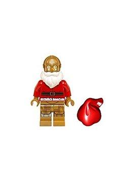 Lego Star Wars Advant Minifigure   C 3 Po Santa C3 Po (75097) by Lego