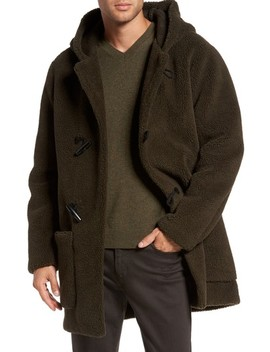 Fleece Toggle Coat by Vince