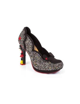 Disney Mickey & Minnie Glitter Character Heels by Irregular Choice